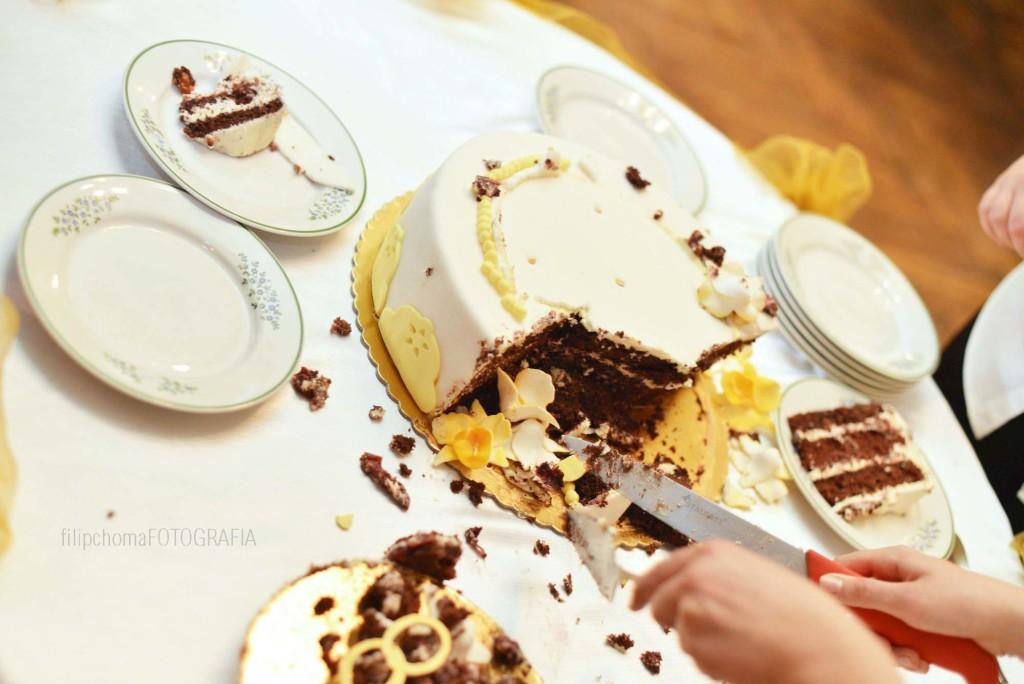 Jak tanio zorganizować ślub - tort